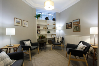 City Therapy Rooms to rent in London | Waiting Room