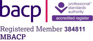 BACP Membership Logo for Lottie Boswell
